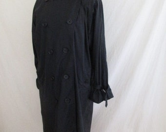 Black size 44 Burberry trench coat by-64%