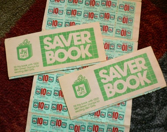 Vintage S and H Green Stamps  1960s   three booklets