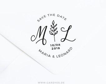 Wedding monogram / Save the Date Design / Wedding logo template