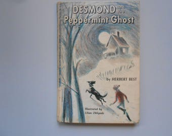 Desmond and the Peppermint Ghost, a Vintage Children's Book by Herbert Best