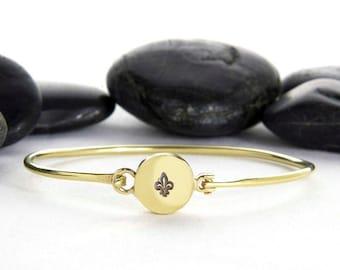 Fleur De Lis Bracelet, Fleur De Lis Jewelry, Fleur De Lis, French Bracelet, French, New Orleans, Paris, Fleur, France, Paris Jewelry