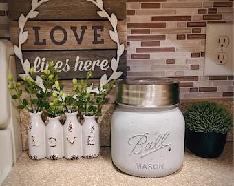 Half Gallon Mason Jar