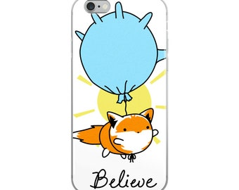 The Fox and Glove Believe iPhone Case