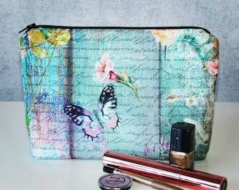 Butterfly Makeup bag