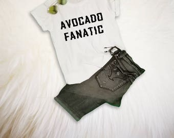 Avocado TShirt Vegan Shirt Avocado Shirt Funny Avocado Shirt with sayings Vegan Merch Women Girls Men Tumblr Vegetarian Tops
