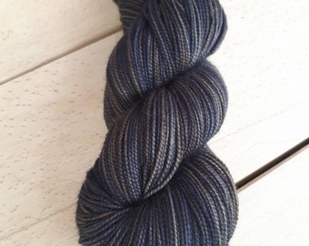 80% nylon 20 twist fingering Merino hand dyed wool