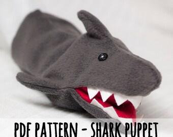Etuoji Shark Hand Puppet Plastic Cartoon Pattern Ion Ball Toy Gift Kids Children Key Chain