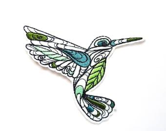 Hummingbird in flight coat