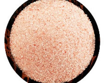 Himalayan Pink Bath Salt - Bath Salts -  6 Grain Size Options - Extra Fine, Fine, Medium, Coarse, Large | Vienna Imports