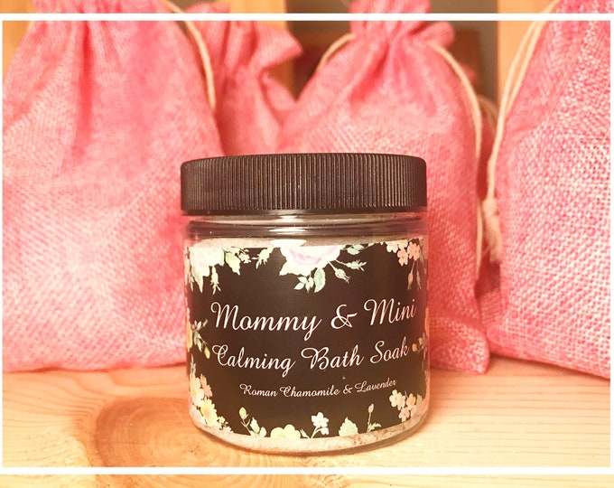 Featured listing image: Mommy & Mini Calming Soaking Salts