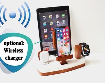 iDOQQ Qi Wireless Charger zubehör fur alle iDOQQ Ladestation Wireless charging Station für iPhone X Samsung Galaxy
