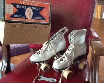 Vintage Chicago Roller Skates