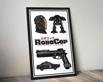 Robocop Movie Poster Print