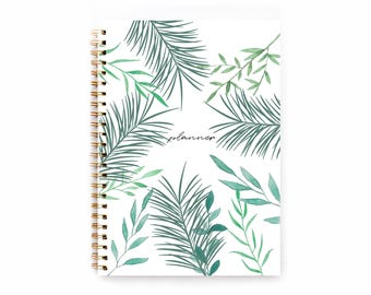 A5 Planner - 2018-2019 Planner - 2018 Weekly Planner - Personalized Planner - 2018 Diary - Custom Gift -  2018 Agenda
