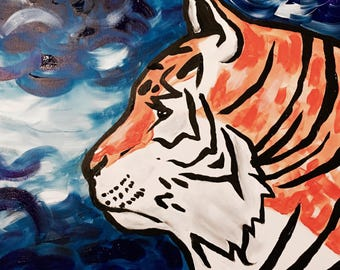Do Tigers Dream? Print