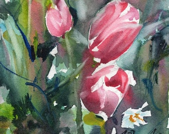Fresh Pick No.19, limited edition of 50 fine art giclee prints from my original watercolor