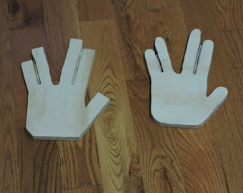 Handmade Vulcan Parting – Spock Hand