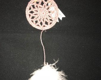 Mini pink Dreamcatcher