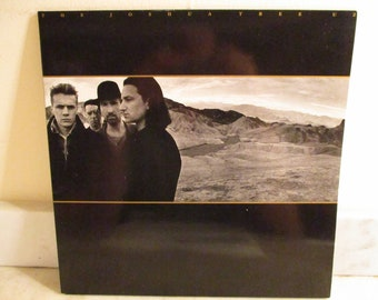 Vintage 1987 Vinyl LP U2 The Joshua Tree Excellent Condition 16058