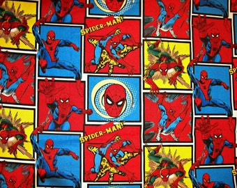 Child's Long Sleeve Art Smock - Spiderman - Made to Order