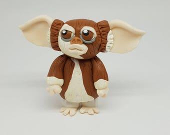 Gizmo polymer clay figurine