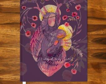 King of My Heart - journal (5.75 x 7.5 in) IN STOCK