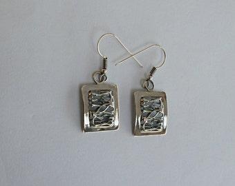 Handmade Sterling Silver Roots Earrings