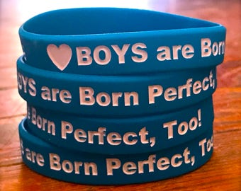 Boys are Born Perfect, Too! Intact Bracelets