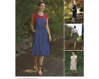 Simplicity Pattern 8641 Misses' Jumper Dress