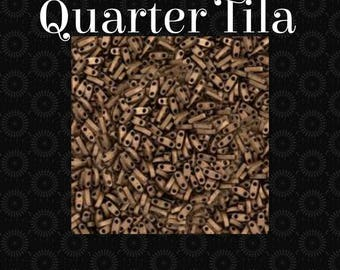 Quarter Tila Beads