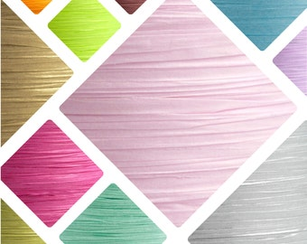 Paper Raffia Ribbon - 21 Colours/ Paper Twine Raffia
