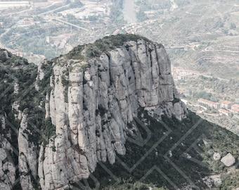 Mont Serrat, Spain Travel Photography Print, Wall Art, Home Decor, Fine Art Photography, Spanish Photography