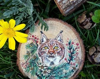 Bobcat. Original fine art.