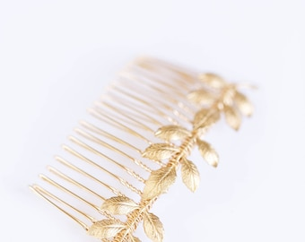 Athena Bridal Hair Comb - Boho wedding hair Comb, hair piece, wedding hair accessories, bridal hair accessory, wedding hair piece, hair pin