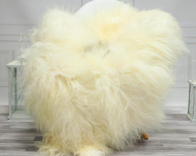 Icelandic Sheepskin | Real Sheepskin Rug | Ivory Sheepskin Rug | Fur Rug | Christmas Decorations #TADISL20
