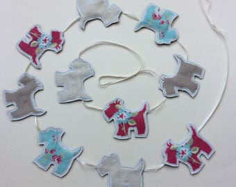 Scottie Dogs Bunting in a Bag