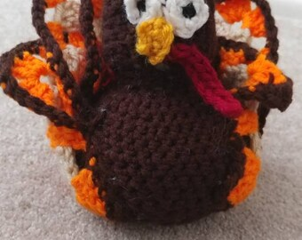 Crochet Thanksgiving Turkey