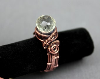 Wire Wrapped, Wirework, Wire work,  Solitaire Ring Tutorial, Pattern PDF