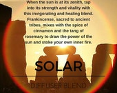 Solar Essential Oil Blend...