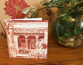 Greetings card - The Casita at Iford