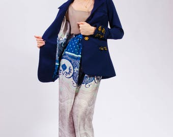 Ramona 2 Suit , with John loose pants