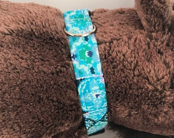 Large Pet Collar, Blue Multicolor