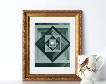 Moss Green Geometric Art Digital Download Printable Art Boho Wall Art Decor Poster Printable Green Wall Poster Vacation Home Decor Valentine