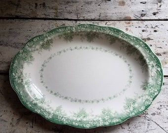 Vintage Ironstone / Vintage Transferware / Vintage Alfred Meakin / Vintage English Pottery / Alfred Meakin Springfield Pottery / Vintage