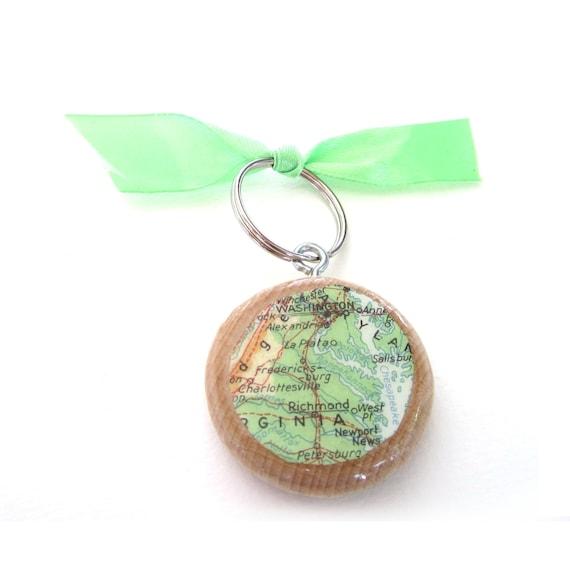Custom made keychain - Nicole