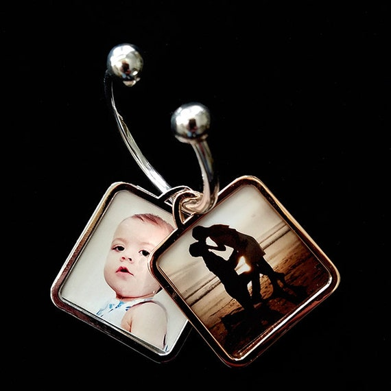 Love Photo Double Key Ring Rose Gold and Silver - Twice the fun!