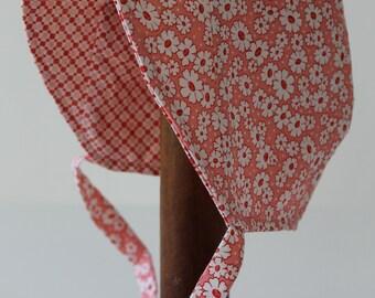 Baby Grace Bonnet size 3-6 months sewn by Laura Ingalls Gunn
