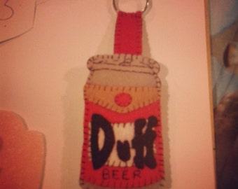 Duff beer keychain