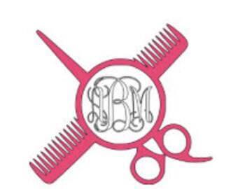 Hairstylist monogram