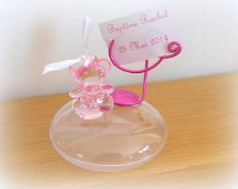 set of 10 original batpeme candy pink Teddy bear